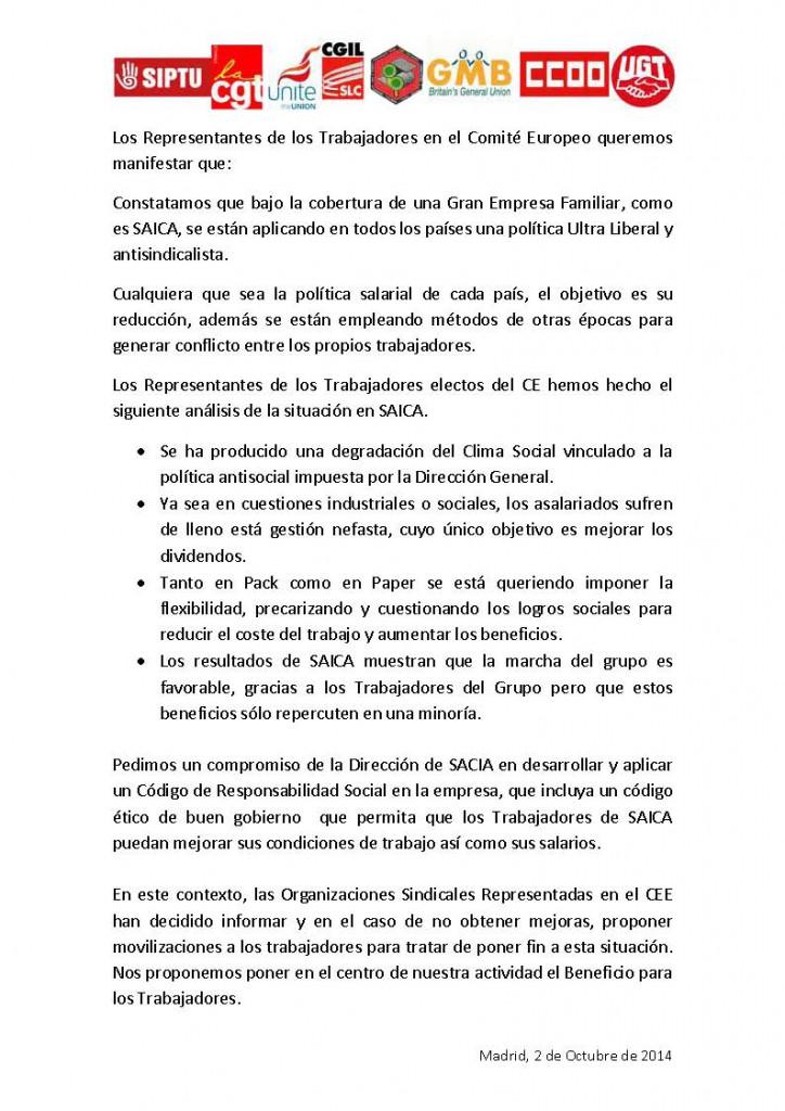 20141001 Manifiesto RRTT CEE Madrid