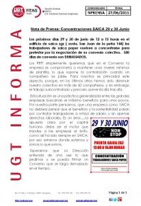 20150627 COMUNICADO PRENSA CONCENTRACION 29 y 30 JUNIO 2015 web