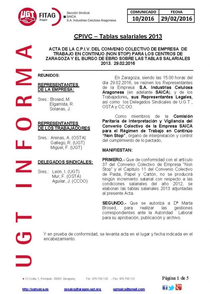 20160229 COMUNICADO UGT SAICA 10 2016 CPIV Tablas 2013_Página_1