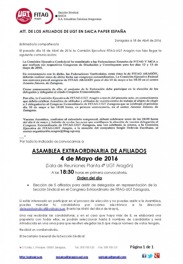 20160418 Convocatoria Asamblea Extraordinaria Afiliados web